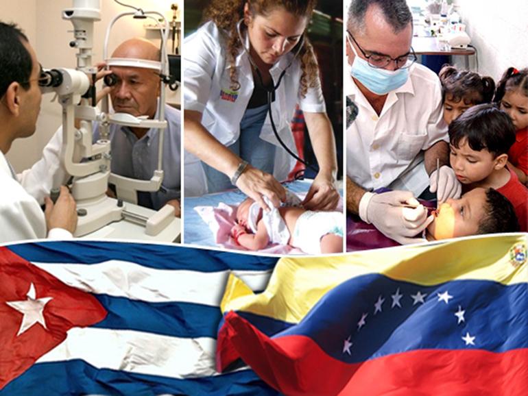 Κουβανοί γιατροί στη Βενεζουέλα
