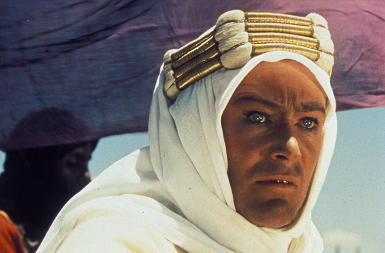 Title: LAWRENCE OF ARABIA • Pers: O'TOOLE, PETER • Year: 1962 • Dir: LEAN, DAVID • Ref: LAW001GL • Credit: [ THE KOBAL COLLECTION / COLUMBIA ]