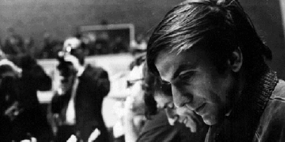 Feb 17, 1968; Berlin, Germany; RUDI DUTSCHKE the most prominent spokesperson of the German student movement of the 1960s. (Credit Image: © KEYSTONE Pictures USA) for more information about using this image or for a higher resolution file: