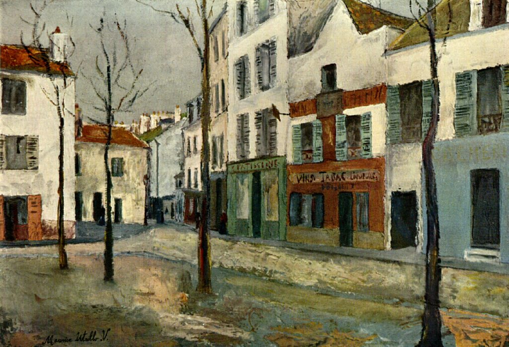 square-tertre-on-montmartre-2 (1910) tate modern
