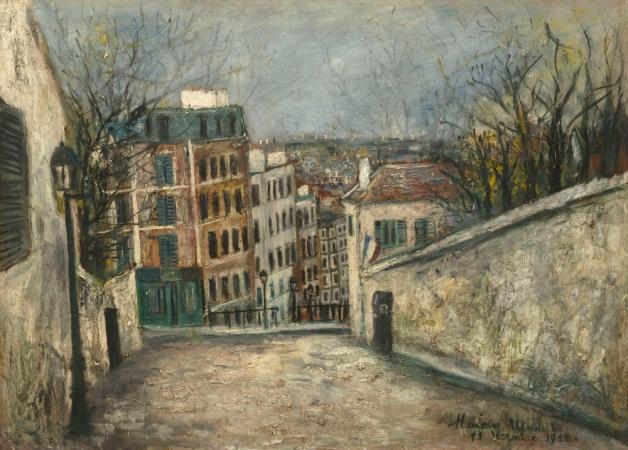 utrillo_oeuvrewg_rue_mont_cenis_1914