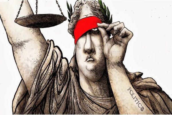 Αποτέλεσμα εικόνας για δικαιοσύνη τυφλή