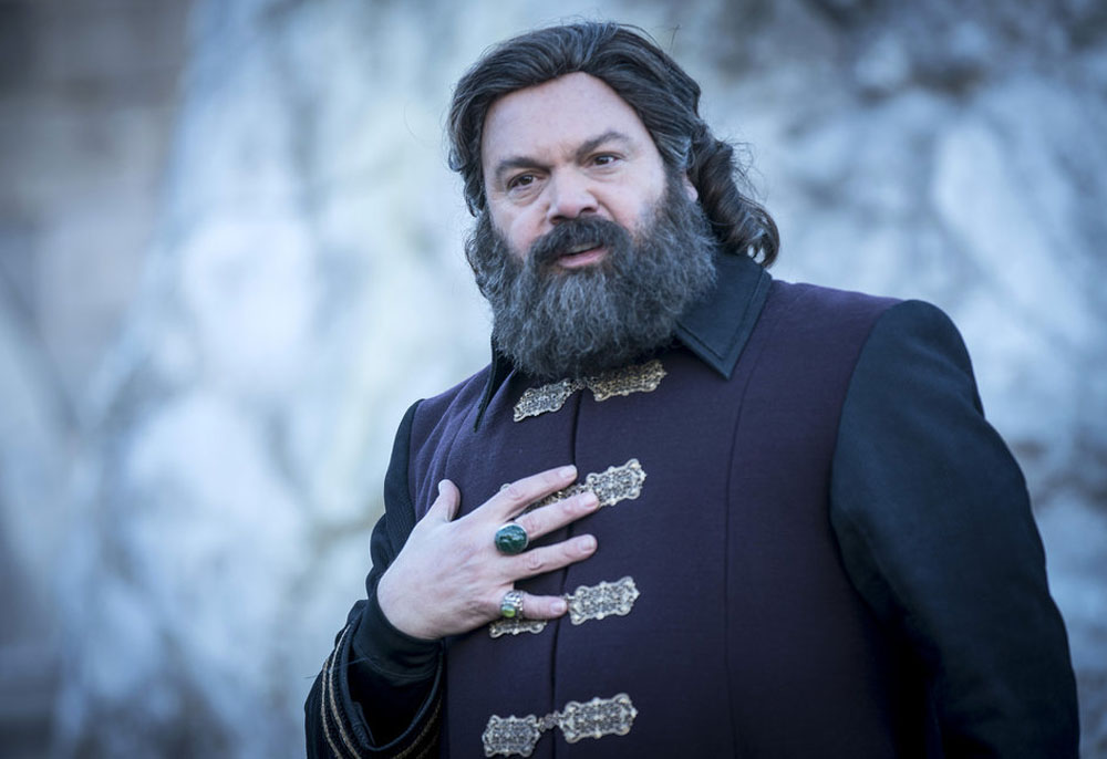 """EMERALD CITY -- """"The Beast Forever"""" Episode 101-- Pictured: Vincent D'onofrio as The Wizard -- (Photo by: David Lukacs/NBC)"""