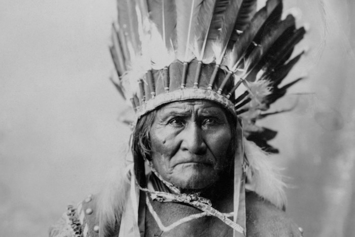USA --- Geronimo (1829-1909), Apache chief who led opposition to the U.S. policy to consolidate his people on reservation. --- Image by © CORBIS