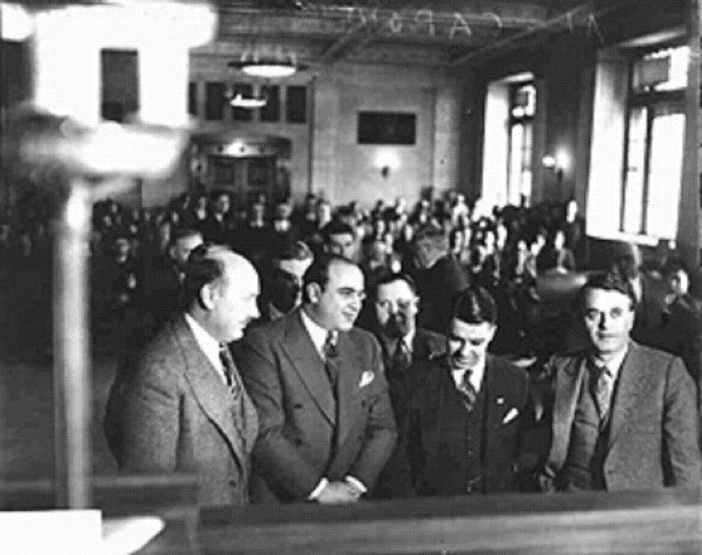 Al Capone, 1931. (CHS DN 95037)