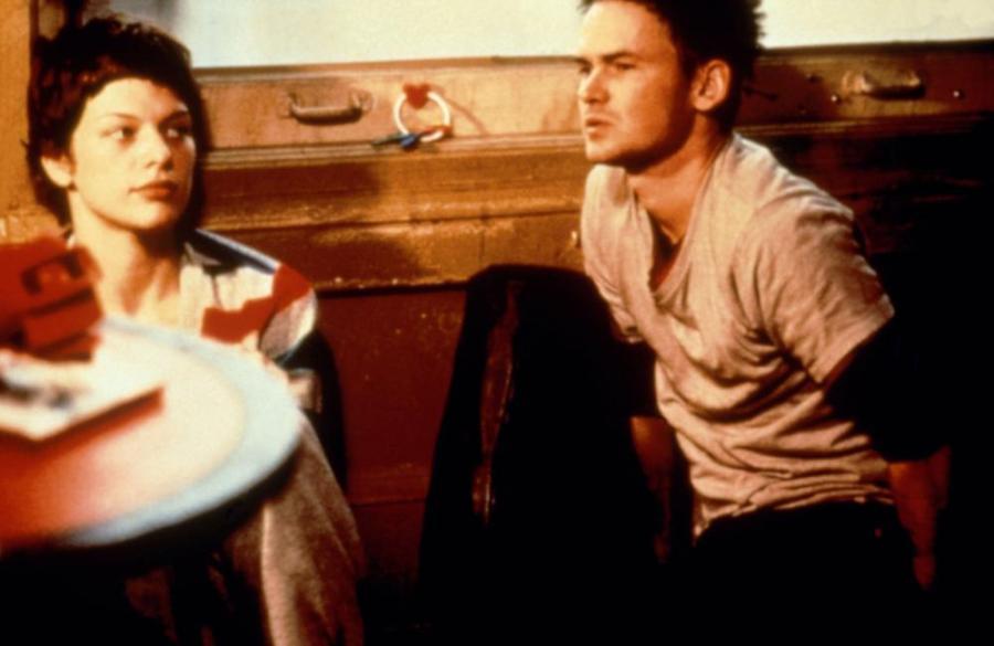 THE MILLION DOLLAR HOTEL, Milla Jovovich, Jeremy Davies, 2000, (c)Lions Gate