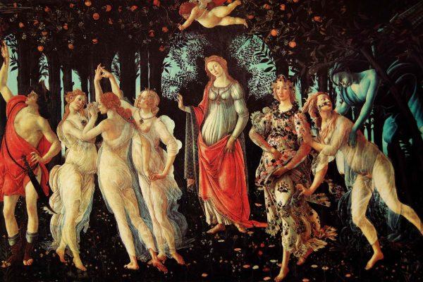 Allegoria della Primavera του Sandro Botticelli - 1482