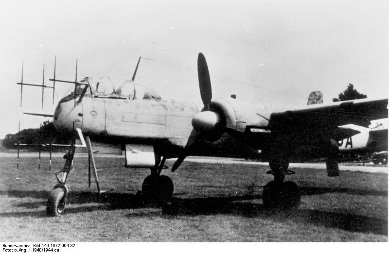 Heinkel He 219 als Nachtjäger