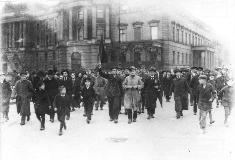 Berlin, Novemberrevolution