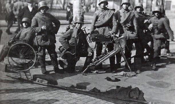 German soldiers Helsinski'